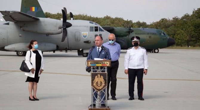 Ministrul Bogdan Aurescu, sursă foto: Ministerul Afacerilor Externe - Facebook