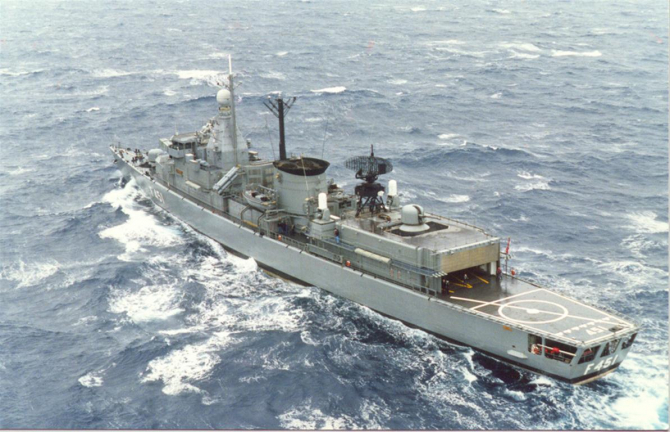 Fregata greacă Limnos, sursă foto: HellenicNavy.gr