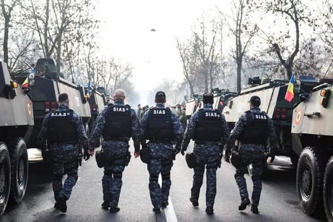 Foto: Serviciul pentru Intervenţii şi Acţiuni Speciale - SIAS Facebook