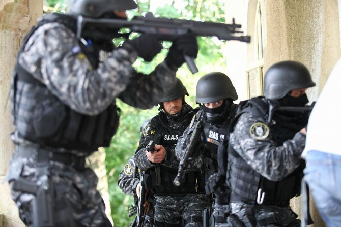 Foto: Serviciul pentru Intervenții și Acțiuni Speciale - SIAS Facebook