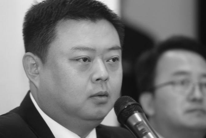 Wang Jing Chief executive of Beijing Skyrizon Aviation and Beijing Xinwei Technology Group