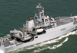 nava de cercetare britanică HMS Enterprise