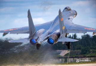 Aeronavă J-11 a Chinei, sursă foto: Ministerul Apărării de la Beijing