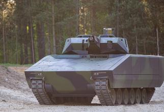 Vehiculul de luptă pentru infanterie Lynx KF4, produs de compania germană Rheinmetall.