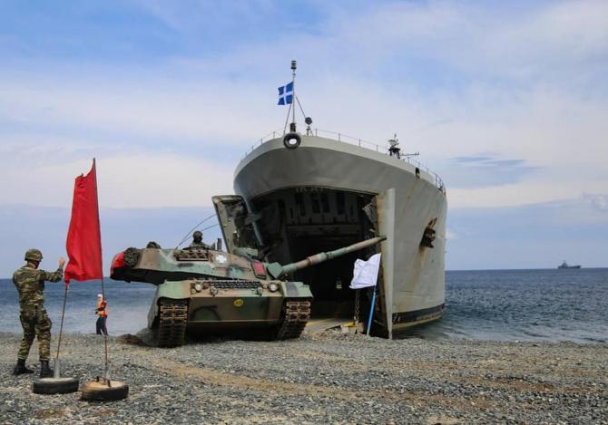 Armata grecă, sursă foto: Ministerul Apărării de la Atena Facebook
