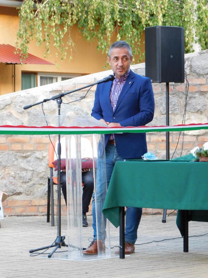 Arpad Janos Potapi, secretarul de stat ungar pentru politici naționale. Sursă foto: Arpad Janos Potapi Facebook