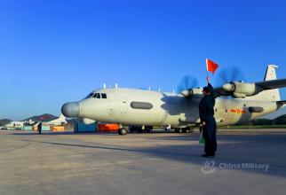 Aeronavă Y-8 a Chinei, sursă foto: Ministerul Apărării de la Beijing