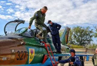 Comandorul Gheorghe Stancu, sursă foto: Forțele Aeriene Române Facebook