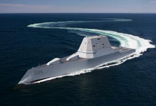 Distrugătorul USS Zumwalt, sursă foto: US Navy