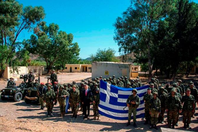Sursă foto: Ministerul Apărării din Grecia - Facebook