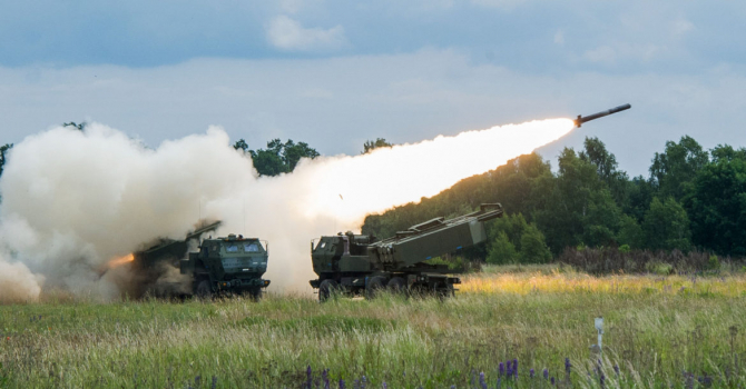 High Mobility Artillery Rocket Systems (HIMARS) M142