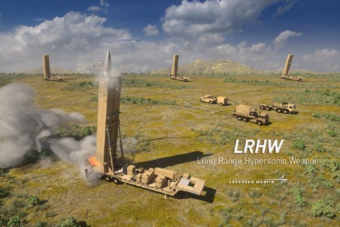 Sistem LRHW - sursă foto: Lockheed Martin