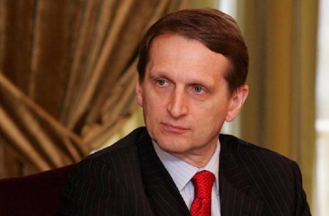 Serghei Naryshkin - Serviciul de Informații Externe al Rusiei