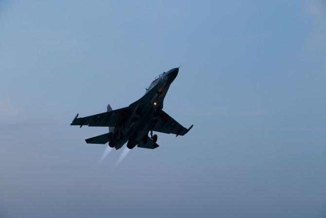 Su-30 China, sursă foto: Ministerul Apărării de la Beijing