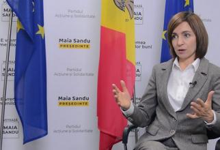 Președintele ales al Republicii Moldova, Maia Sandu