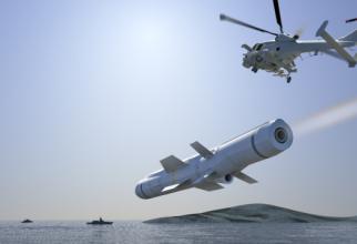 Racheta Sea Venom/ANL, sursă foto: MBDA