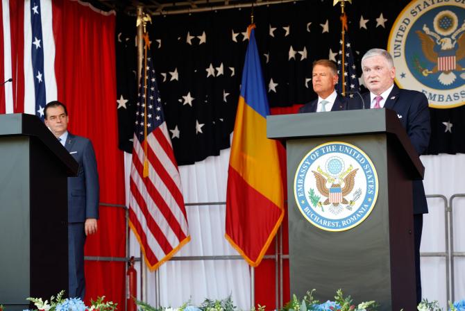 E.S. Ambasadorul SUA în România Adrian Zuckerman, sursă foto: U.S. Embassy Bucharest Facebook