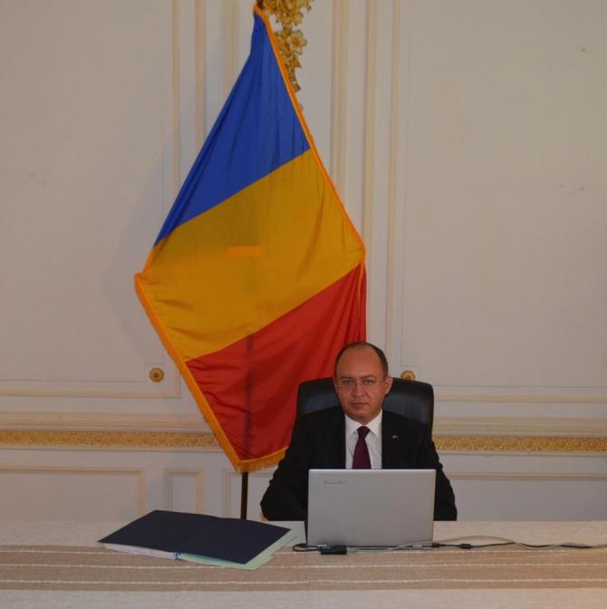 Foto: Bogdan Aurescu, sursă: Ministerul Afacerilor Externe/ Ministry of Foreign Affairs, Romania Facebook