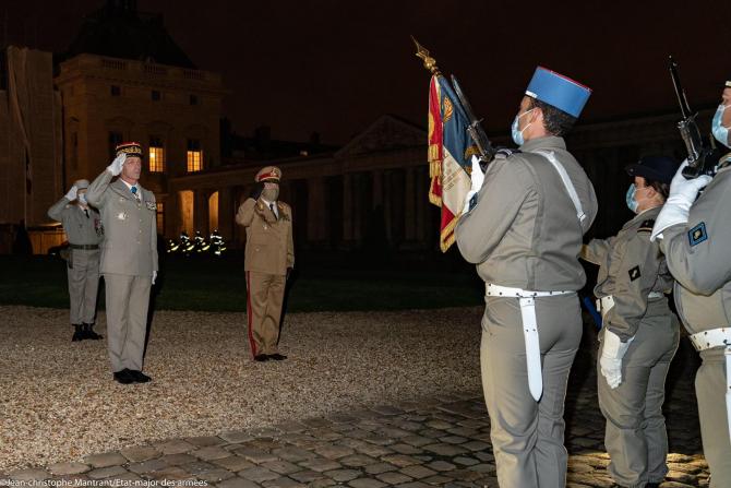 Vizita în Franța a șefului Statului Major al Apărării. Sursă foto: MApN