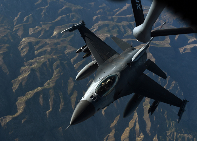 F-16 al US Air Force, sursă foto: U.S. Department of Defense (DoD) Facebook