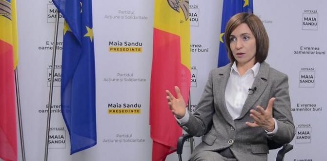 Preşedintele Republicii Moldova, Maia Sandu