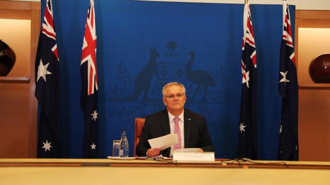 Prim-ministrul australian Scott Morrison