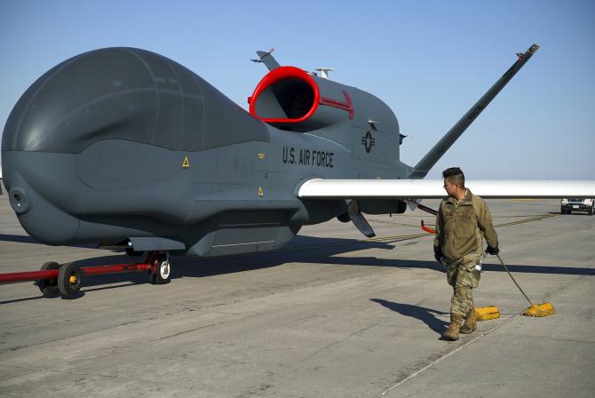RQ-4 Global Hawk, Foto: U.S. Department of Defense (DoD) Facebook