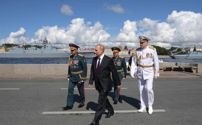 Președintele rus Vladimir Putin. Sursă foto: Kremlin