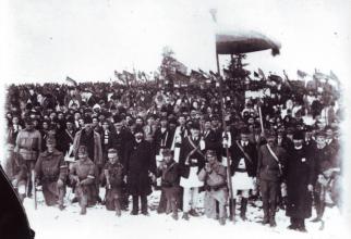 Adunarea Naţională de la Alba Iulia de la 1 Decembrie 1918, sursă foto: Arhivele Diplomatice ale Ministerului Afacerilor Externe Facebook