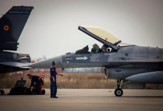 F-16, România, sursă foto: Forțele Aeriene Române