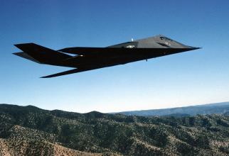 F-117 Nighthawk, sursă foto: US Air Force