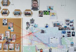 Agenţii FSB care l-au urmărit pe Navalny din 2017 în mai mult de 30 de călătorii pe care acesta le-a. Sursa foto: Bellingcat.com.