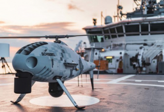 Drona S-100 Camcopter, sursă foto: Schiebel Group