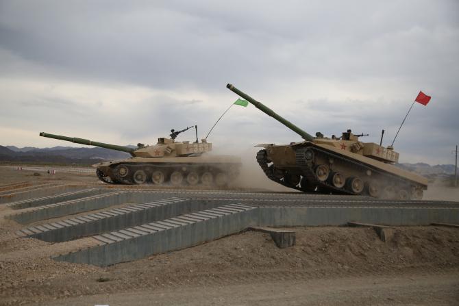 Type 96, China. Sursă foto: Ministerul Apărării din China