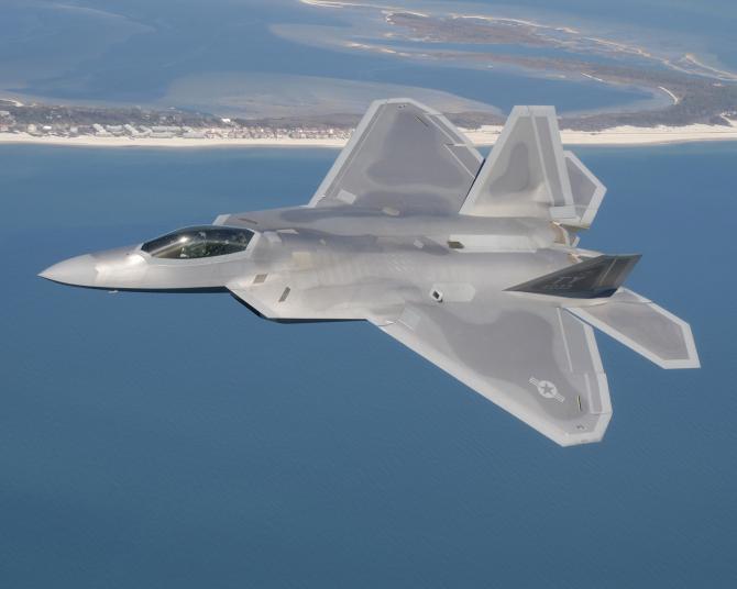 F-22 Raptor, sursă foto: US Air Force