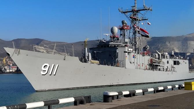 Fregata egipteană Alexandria (F911), sursă foto: Ministerul Apărării din Rusia