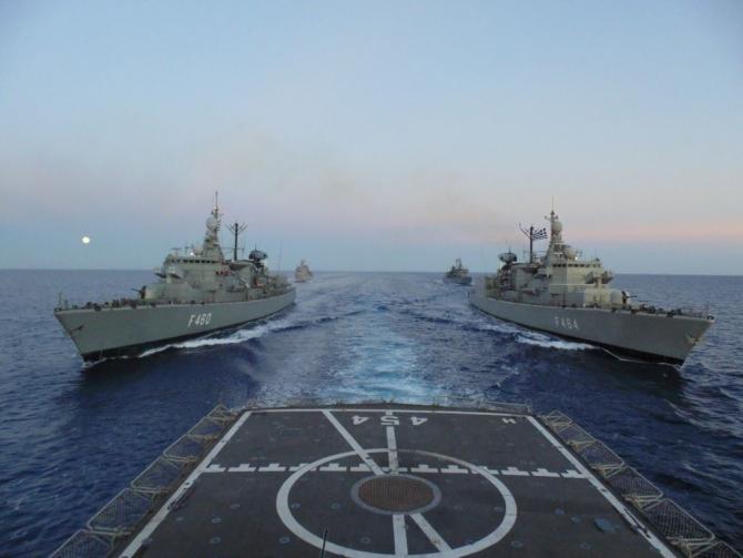 Foto: Helenic Navy Facebook
