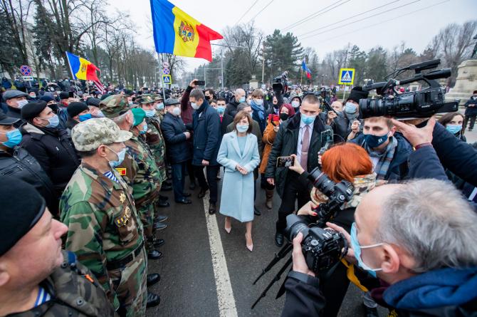 Maia Sandu, președintele Republicii Moldova. Sursă foto: Maia Sandu Facebook