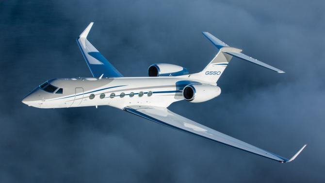 Avion Gulfstream G550 ISR