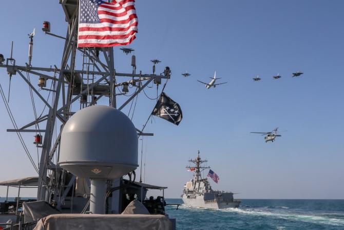 US Navy, sursă foto: U.S. Department of Defense (DoD) Facebook