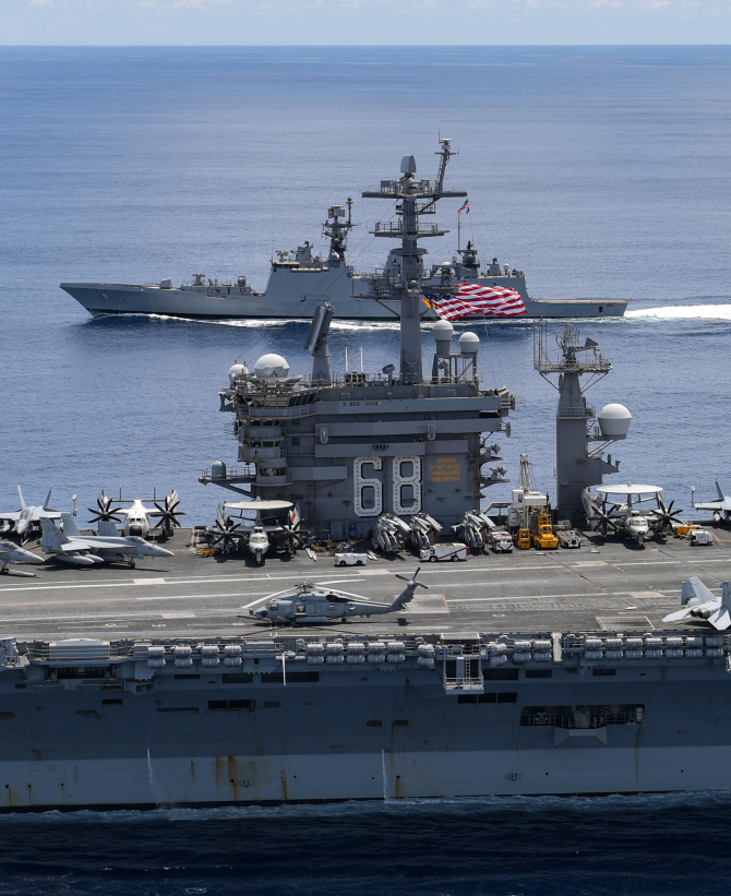 Sursă foto: USS Nimitz