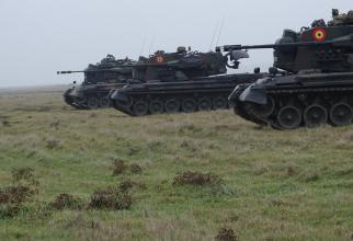 "Complexe antiaeriene Gepard. Sursa Foto: Brigada 282 Blindată ""Unirea Principatelor"""