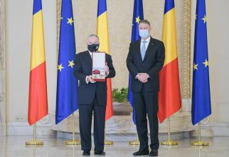 Ambasadorul SUA la Bucuresti, Adrian Zuckerman si presedintele Romaniei, Klaus Iohannis  Sursa foto: Administratia Prezidentiala