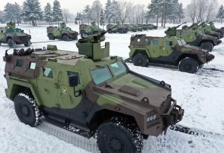 Vehicule blindate multi-rol 4 × 4 BOV M16 Milosh. Sursa Foto: Ministerul Apărării al Republicii Serbia