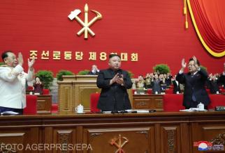 Foto: Kim Jong Un, ales secretar general al Partidului Muncitorilor
