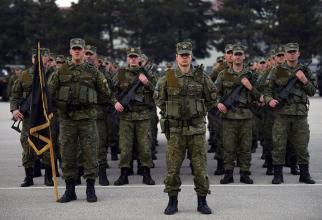 Forțele kosovare, sursă foto: Președinția Kosovo