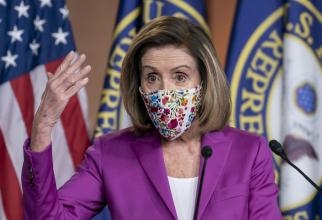 Preşedinta Camerei Reprezentanţilor a Congresului SUA, Nancy Pelosi