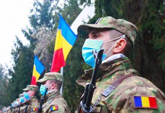 Foto: Depunerea Jurământului militar la Batalionul 81 ROT, Sursă foto: MApN Facebook, Gogu Petruț