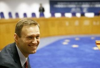 Alexei Navalnîi la Strasbourg, sursa Facebook Navalnîi