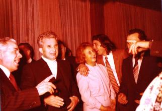 Sărbătorirea zilei de naștere a lui Nicolae Ceaușescu, 26 ianuarie 1980. Sursă foto: Fototeca online a comunismului românesc